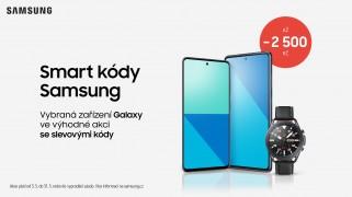 více o novince zde - Vybrané produkty Samsung v květnu se skvělou cenou! - Využijte slevové kódy a získejte slevu na nový telefon, tablet...